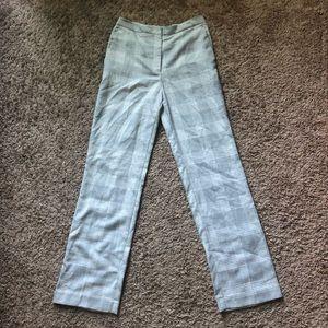 H&M Plaid Business Pants